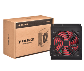 XILENCE XN051 XP400R7 400W , VER 2.31, CE , P.PFC, 12cm Red Fan