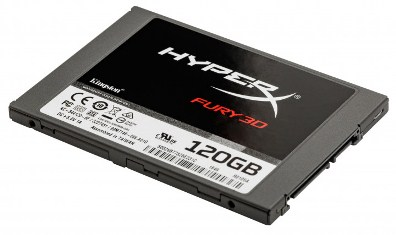 "Kingston SSD HyperX Fury 3D 120GB 2.5"" SATAIII TLC (KC–S44120–6F"