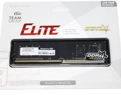 DDR4 4GB 2666 TEAM ELITE