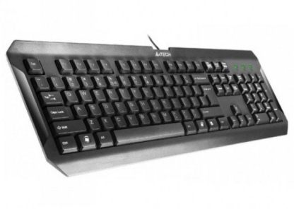 A4Tech K-100 KEYBOARD USB BLACK US+RUSSIAN