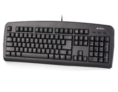 A4Tech KB-720 SLIM KEYBOARD USB BLACK US+RUSSIAN