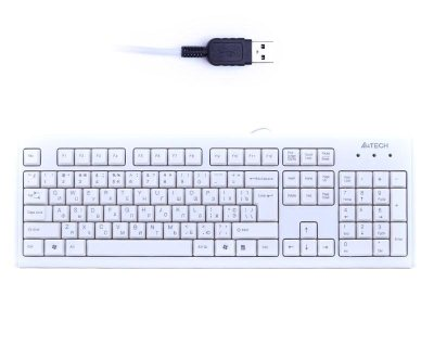 A4Tech KM-720 NATURAL ERGONOMIC KEYBOARD USB WHITE