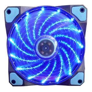 Aurora case fan 12cm 15lights BLUE