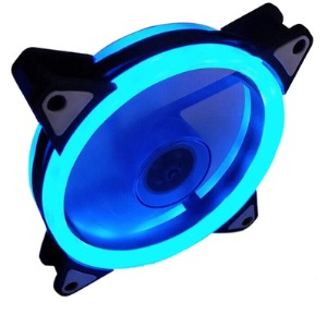 Aurora case fan 12cm double BLUE
