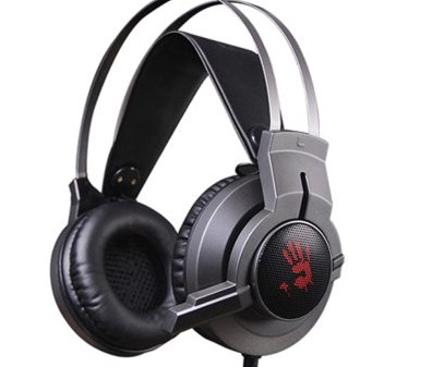 A4Tech G437 BLOODY HEADSET GUN BLACK USB