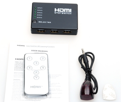 HDMI splitter 5 in 1 out Switch