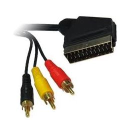 KDAVC9007-1.5M KINGDA Scart to 3RCA
