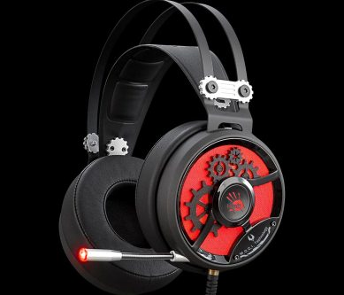 A4Tech M660 BLOODY HIFI GAMING HEADSET BLACK+RED