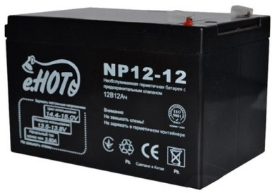 ENOT NP12-12 battery 12 V / 12 Ah