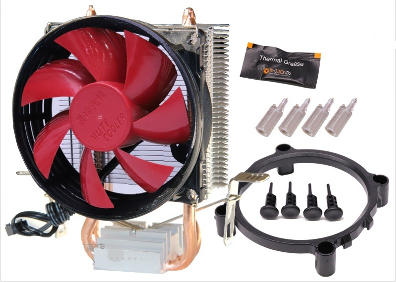 Cooler Mute Small Guardian2 pipe 1151 775 AMD
