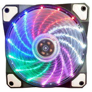 Aurora case fan 12c 15lights RAINBOW