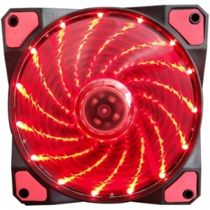 Aurora case fan 12c 15lights RED