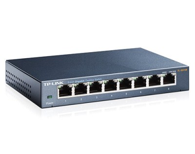 TP-Link TL-SG108 8-Port Gigabit Switch 10/100/1000Mb