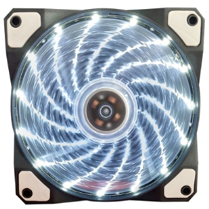 Aurora case fan 12cm 15lights WHITE