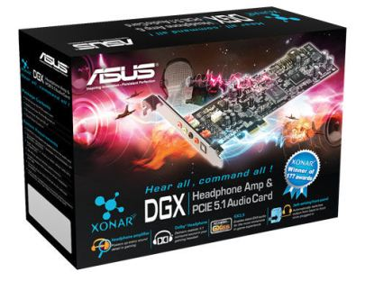 Asus Xonar DGX Sound Card PCI-Express