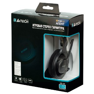 A4Tech HS-100 HEADSET BLACK