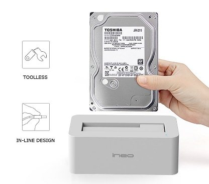 ineo USB3.0 HDD Docking Station