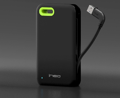 ineo USB3.0 2.5 HDD box Plastic